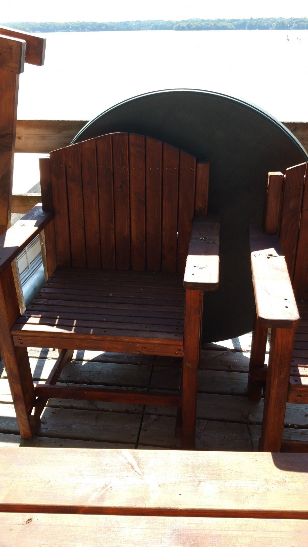 Custom made Patio Chair