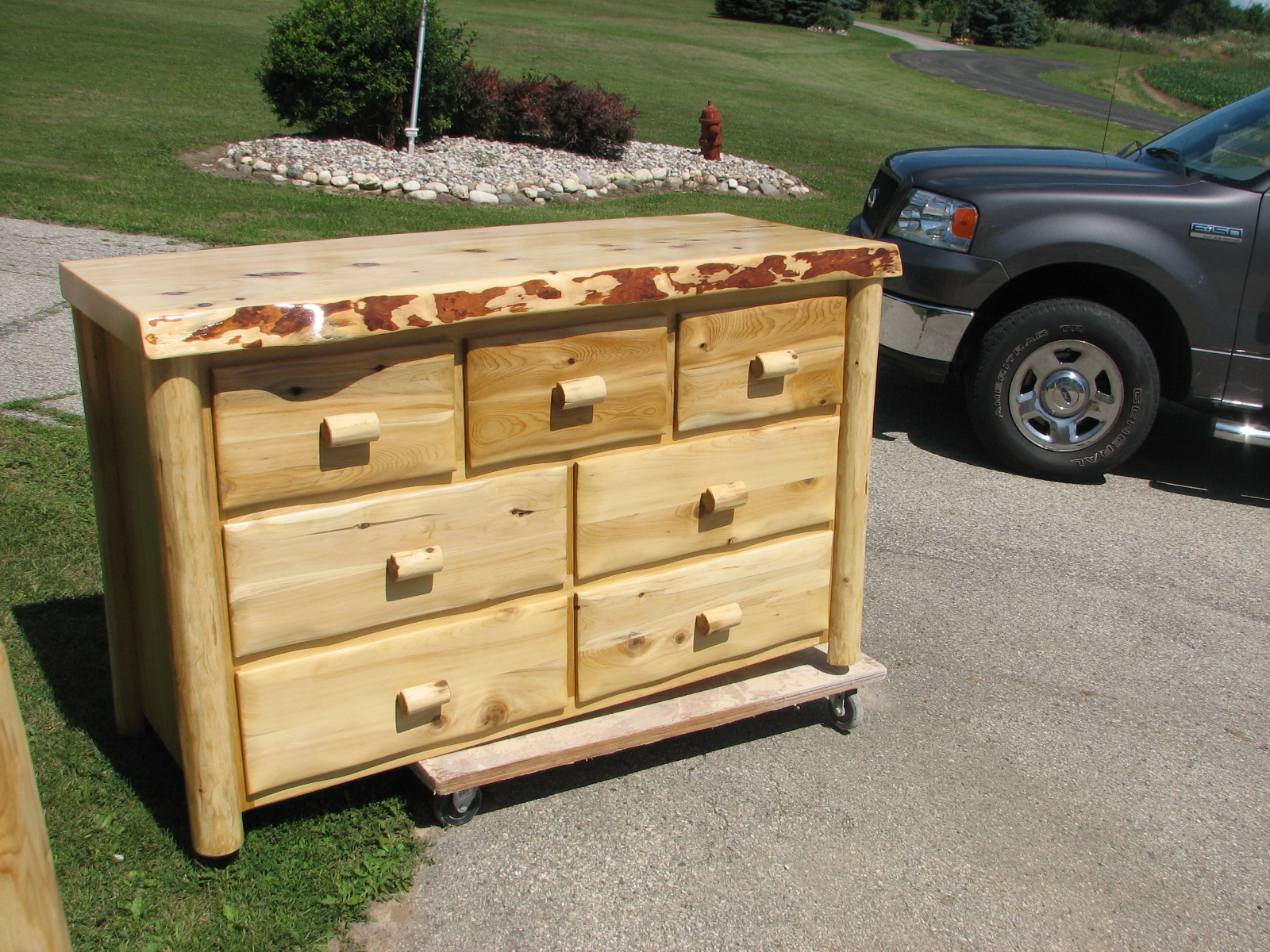 Custom Made Red Cedar Dresser