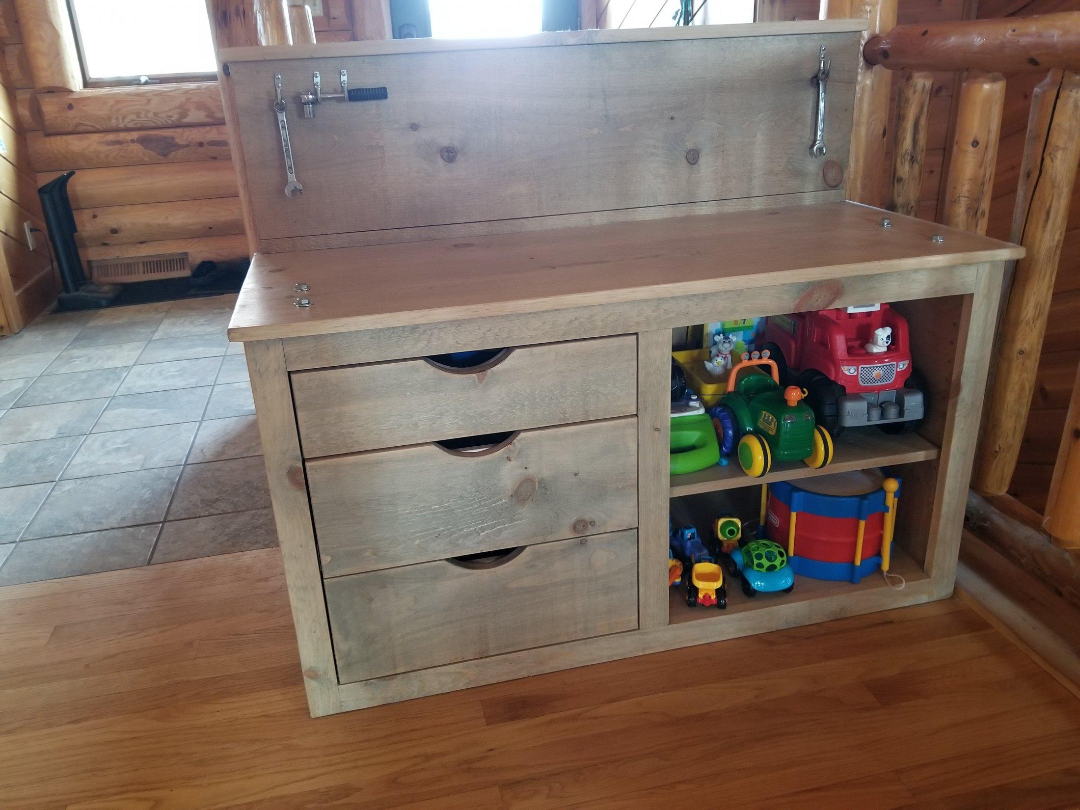 Custom made Children's Workbench