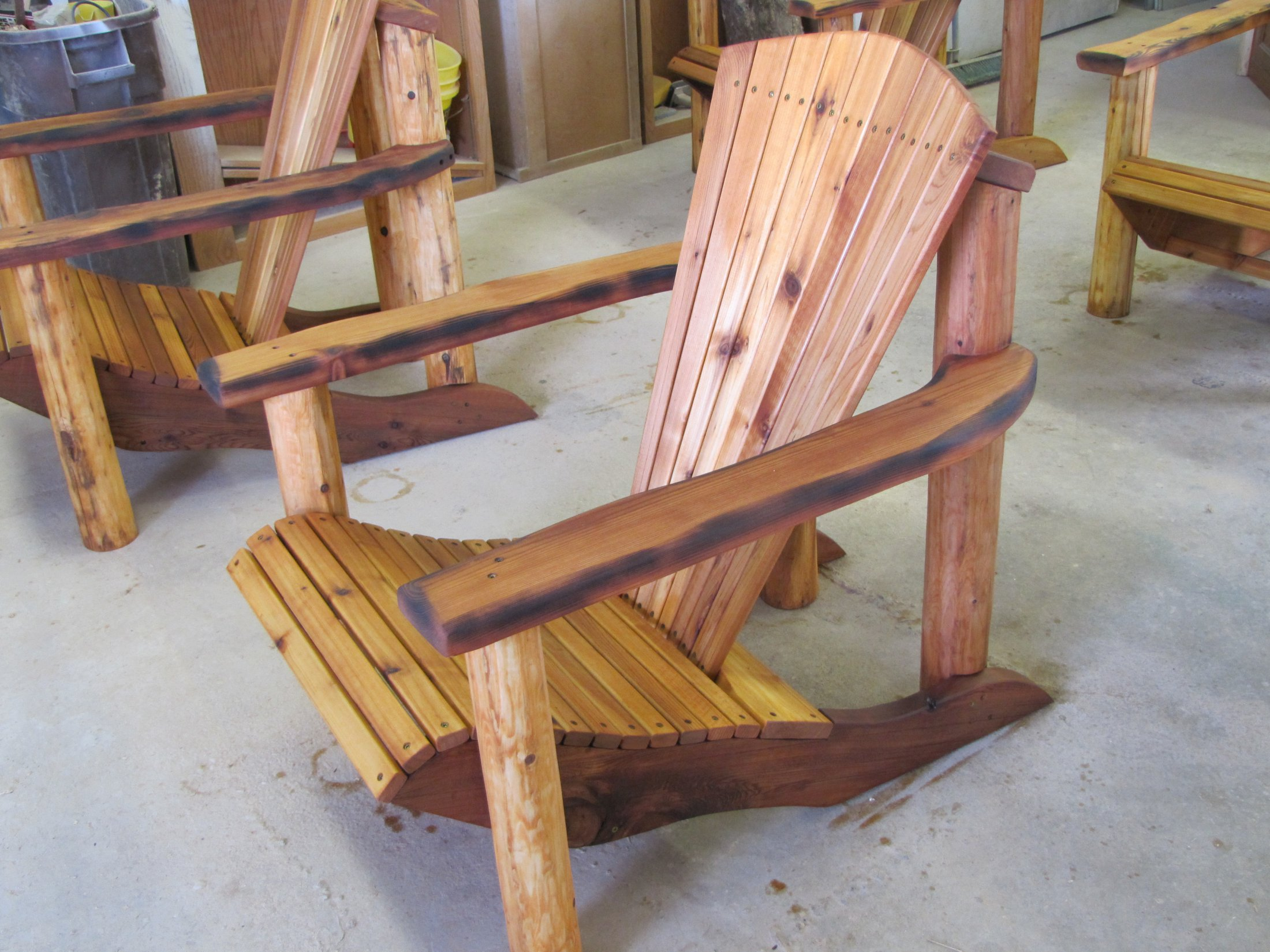 Custom Made Adirondack Chair