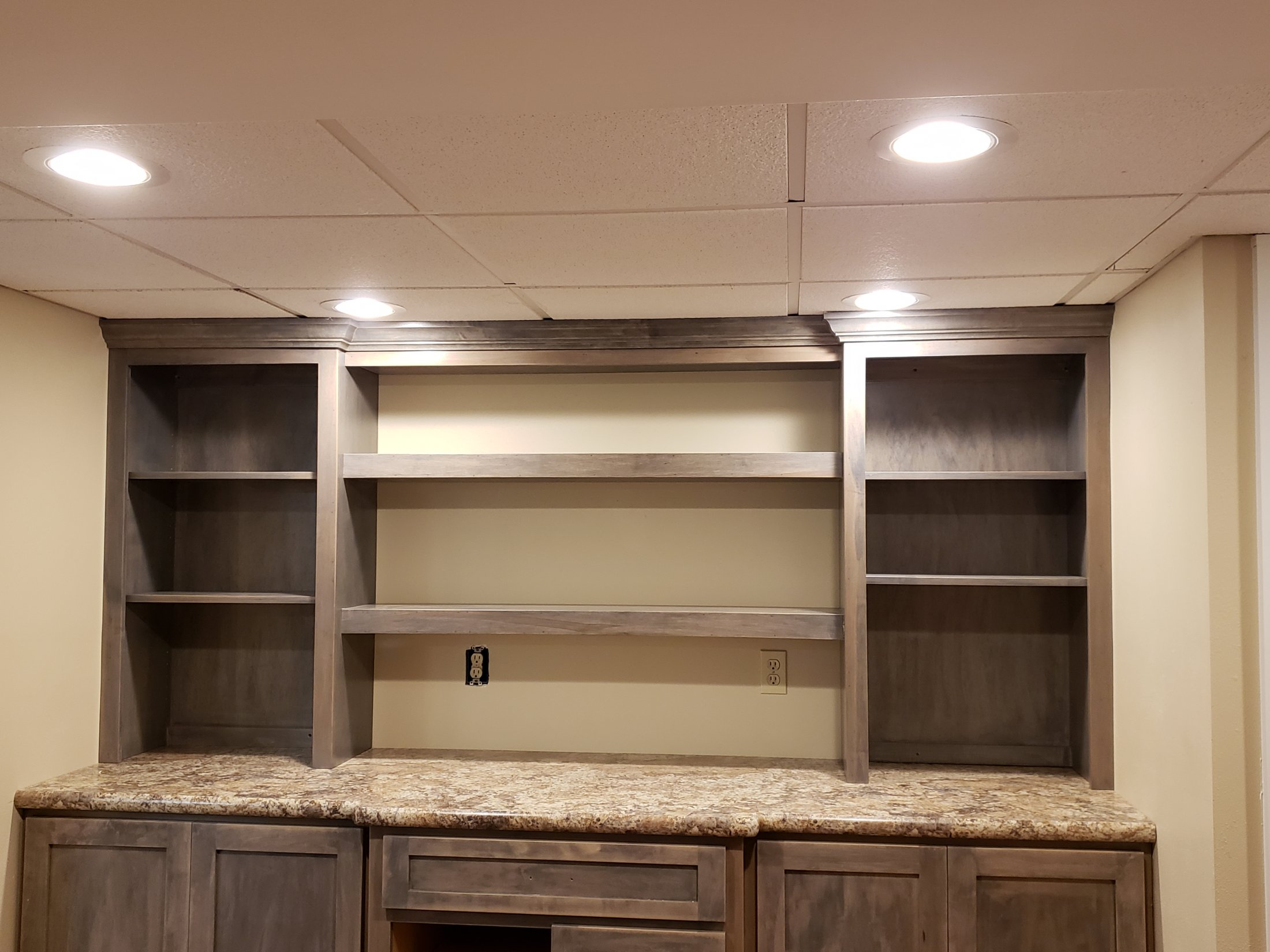 Custom Built Maple Cabinets