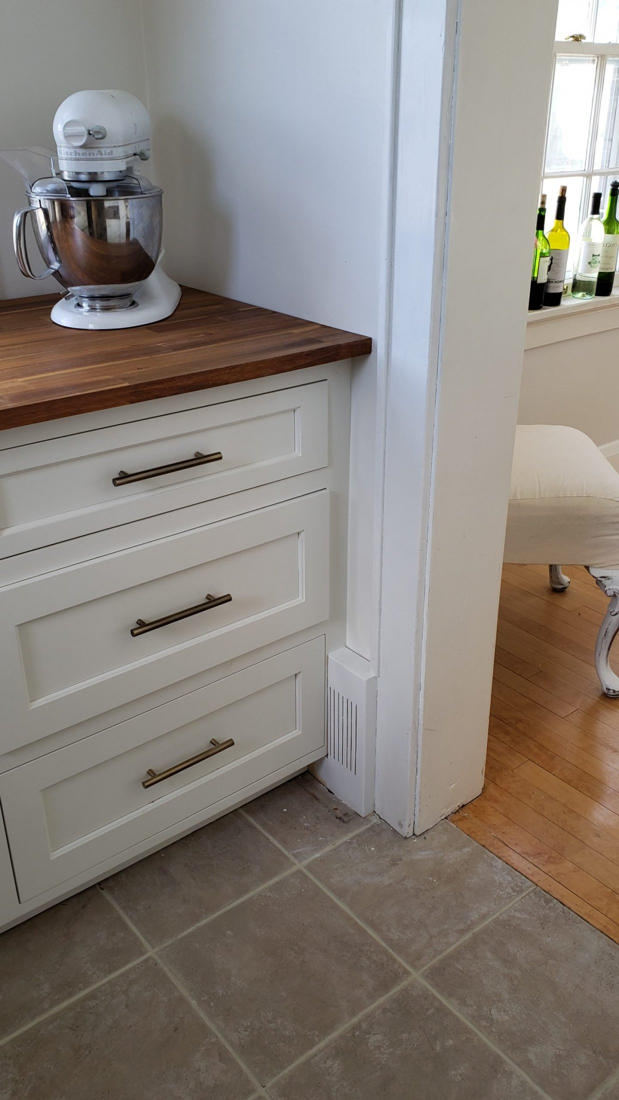Custom Built Maple Cabinets