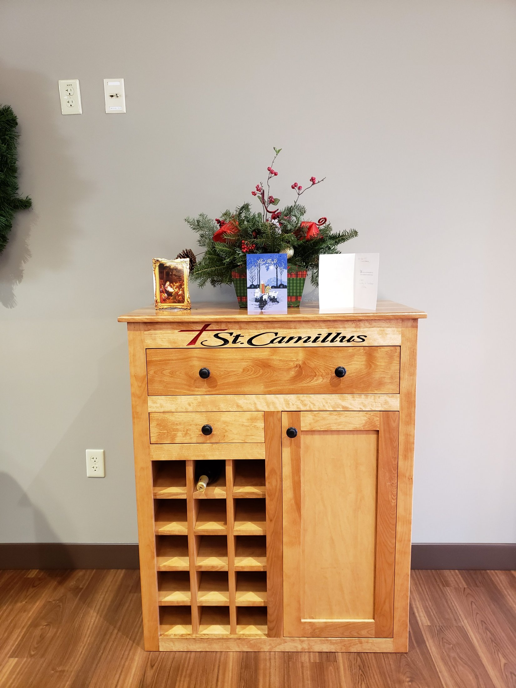 Custom Built Wine Cabinet