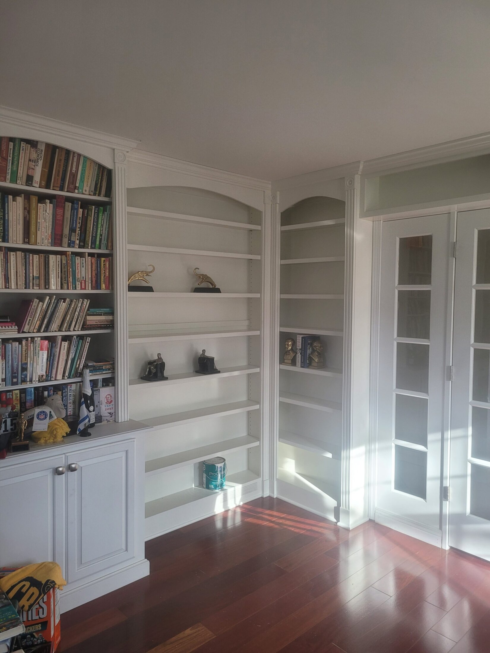 Custom Built Bookcase Cabinets