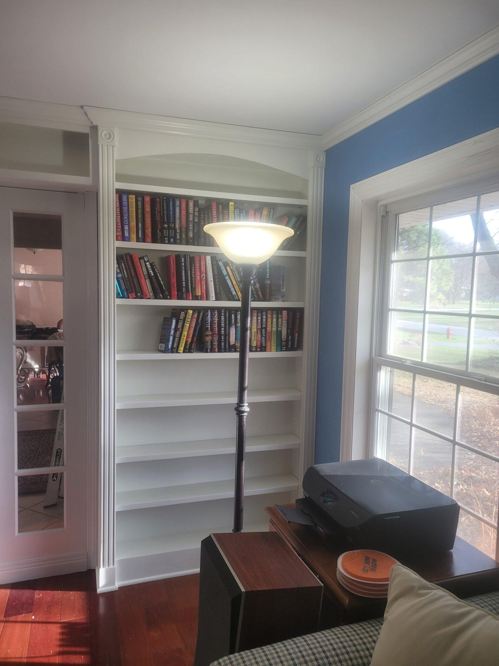 Custom Built Bookcase Cabinets