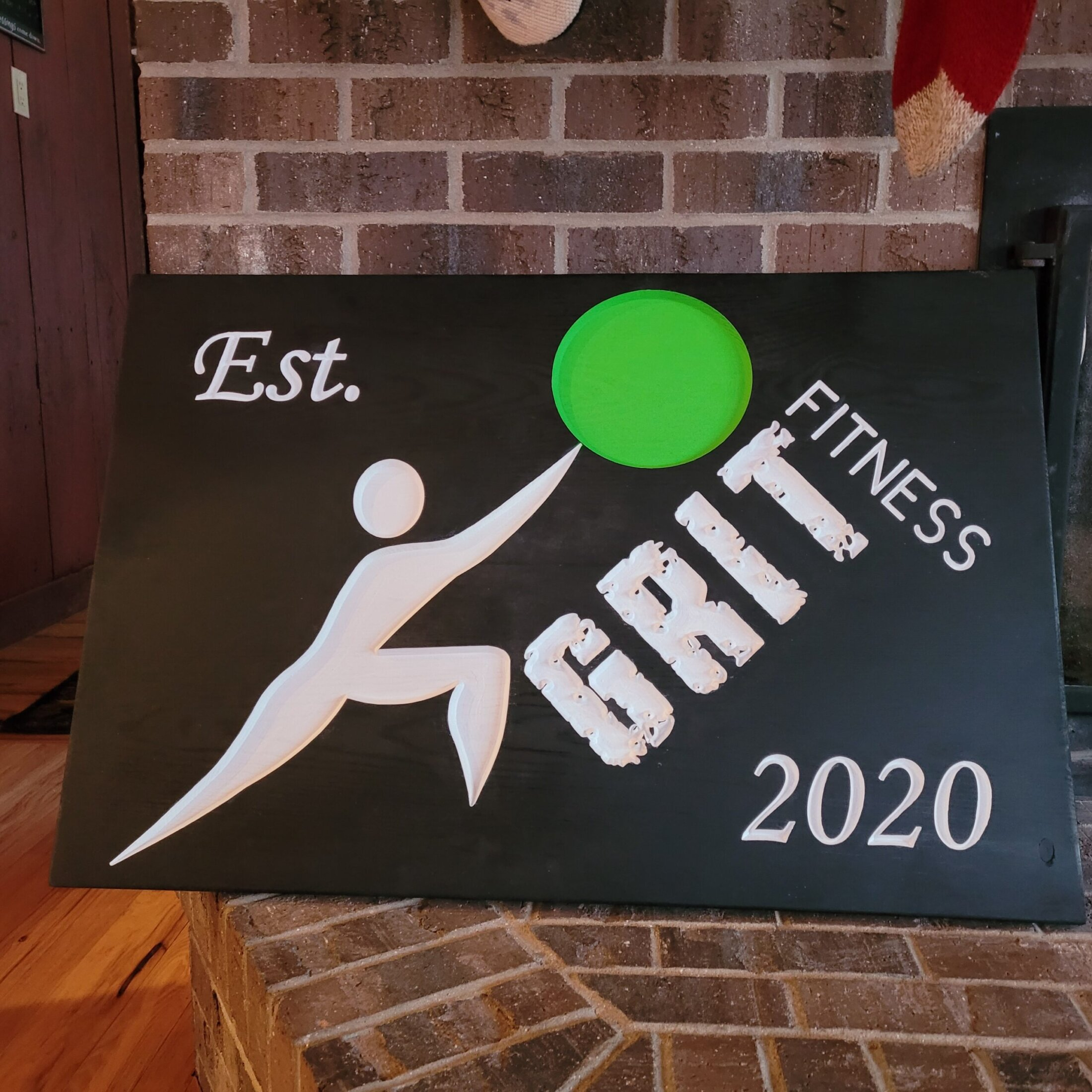 Custom Carved and Painted Sign