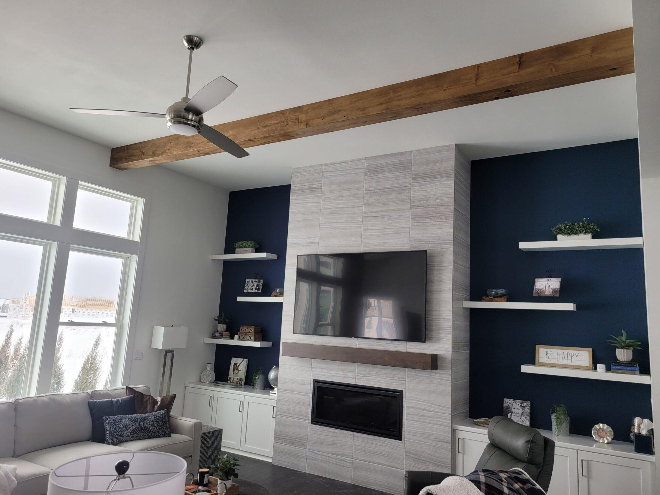 Knotty Pine Ceiling Beams-Custom Made