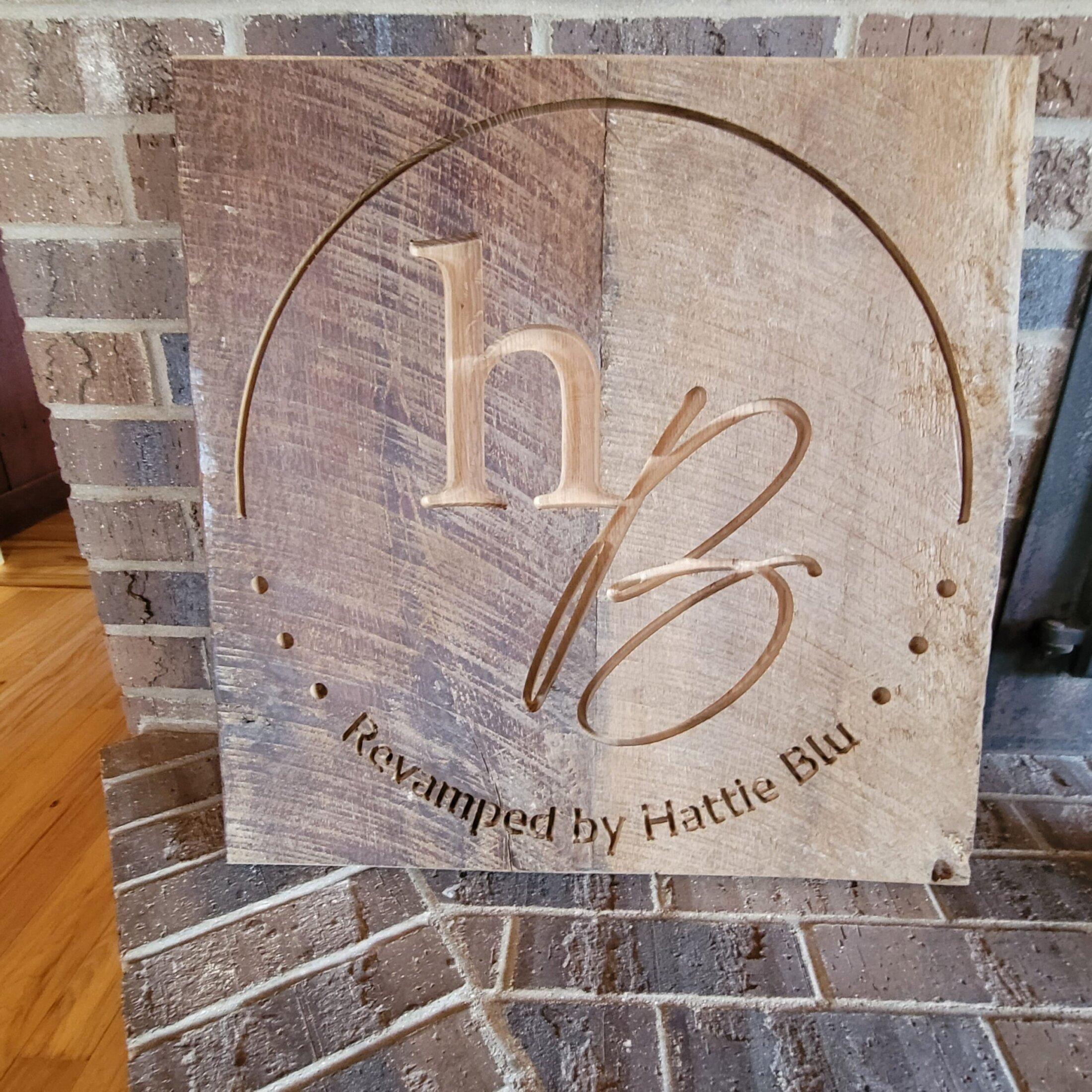 Custom Carved Barn Board