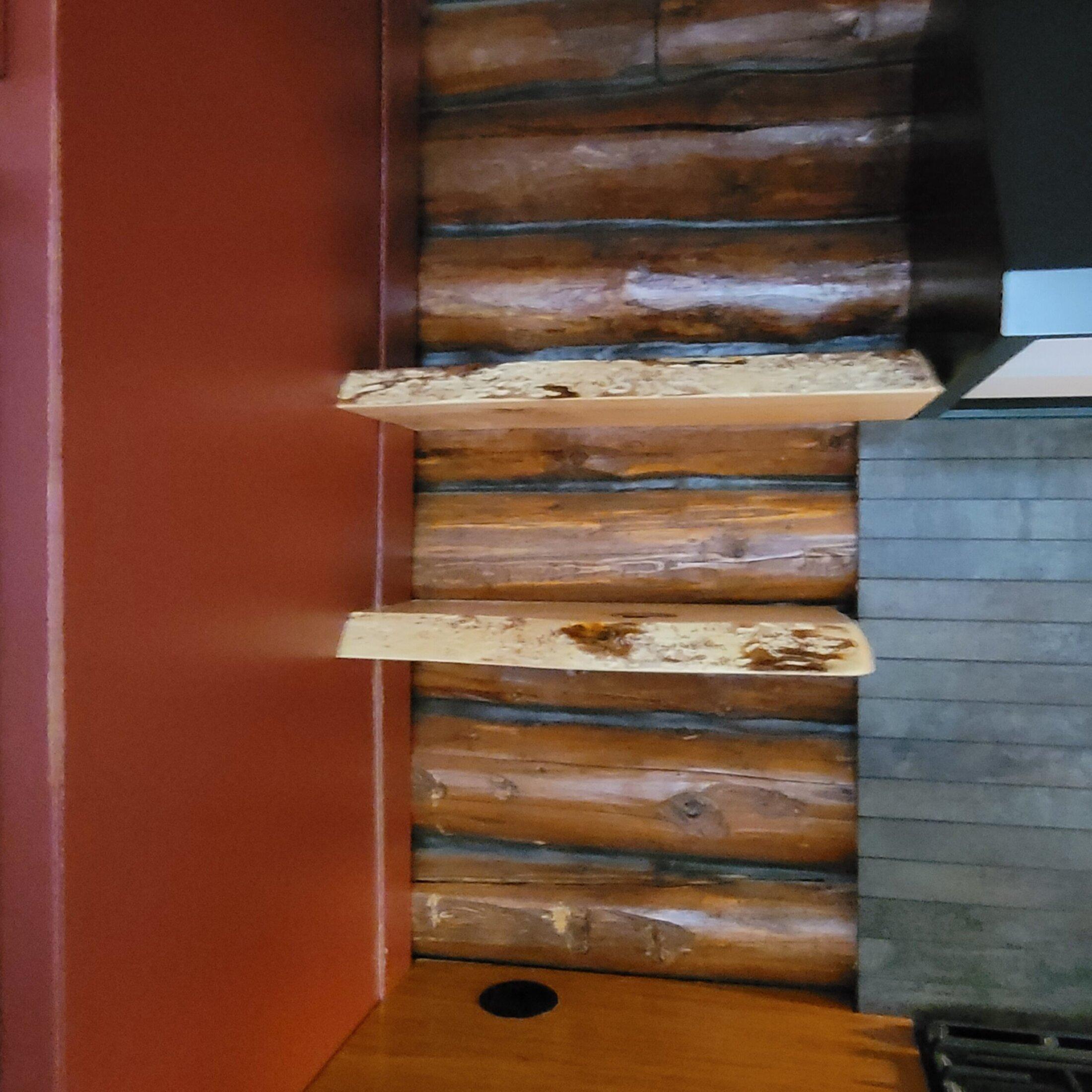 Custom Pine Shelves