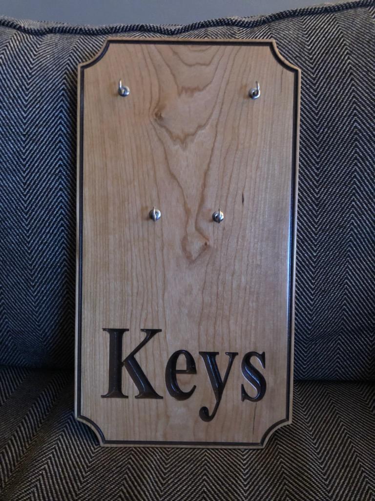 Custom Maple Key Holder
