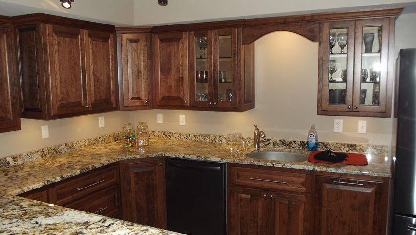 Custom Cherfy Cabinets
