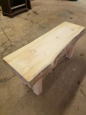3ft Pine Bench