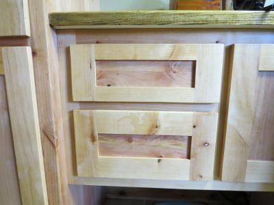 Custom Built Ironing Board Cabinet
