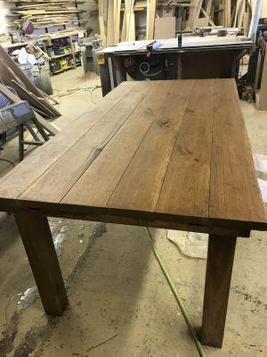 Custom made Cherry Table