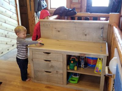 Custom Made Children's Workbench