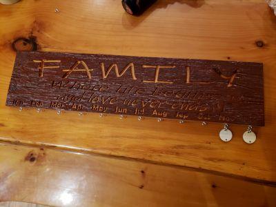Custom Barn Wood Sign