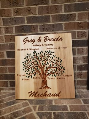 Custom Maple Sign