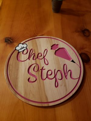 Custom Cherry Sign