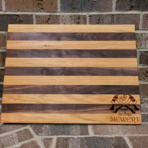 Custom Designed, Built & Carved, Cutting Board