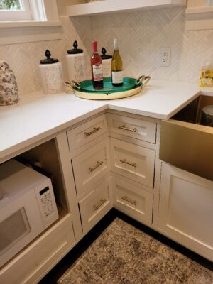 Custom Built Pull out Drawers