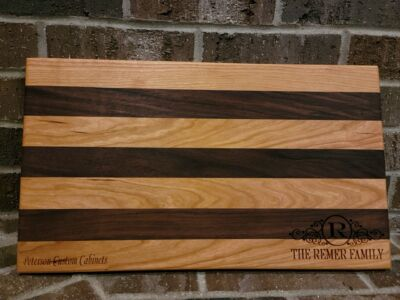 Custom made and carved Bread Board/Cutting Board